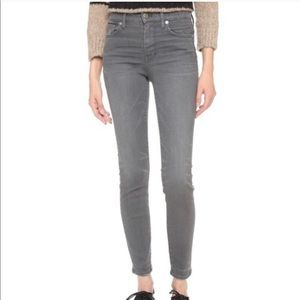 Madewell High Riser Skinny Gray Skinny Jeans